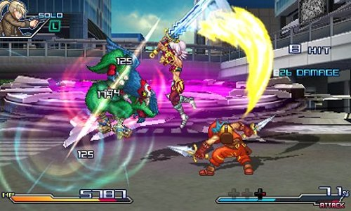 ProjectXZoneFight