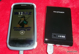 Gear Diary RAVPower RP PB07 10400mAh Portable External Battery Pack Charger Review photo