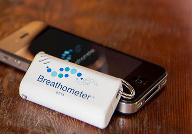 Breathometer - the Smartphone Breathalyzer