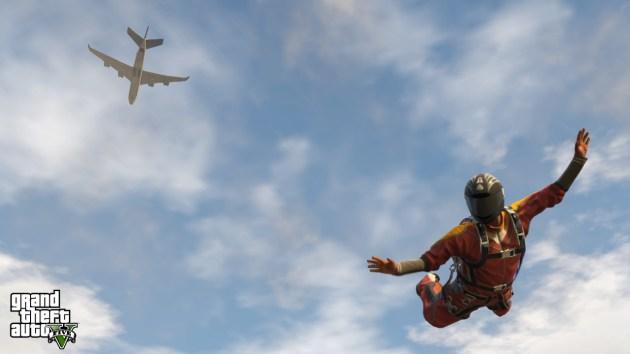 GTAV-Skydive