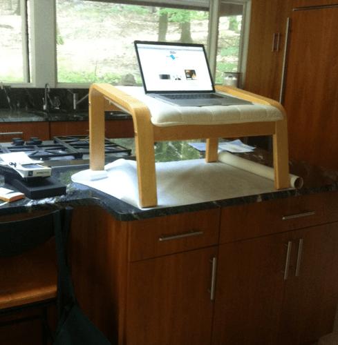 Ikea Ottoman Standing Desk