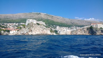 The Red Keep, Fort Lovrjenac, and the walled city of Old Town Dubrovnic