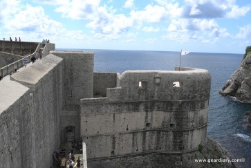 Fort Bokar, the Battle of Blackwater Bay was filmed here and below