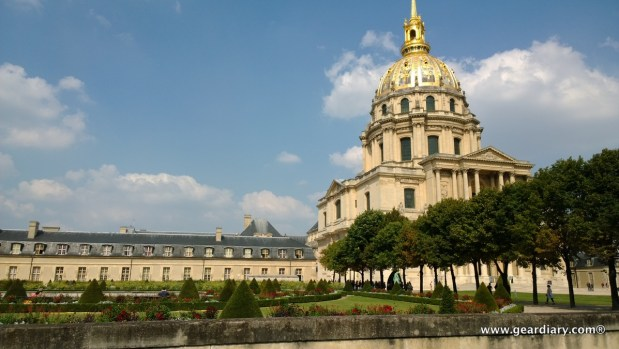 Napolean's Tomb is inside the Dôme des Invalides.