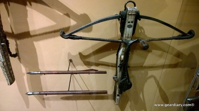 Crossbow and bolts