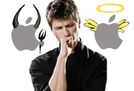 Apple Constantly Induces Feelings of Love AND Hate
