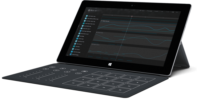 Microsoft Surface Music Remix Kit