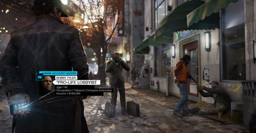 A screenshot from Watch Dogs