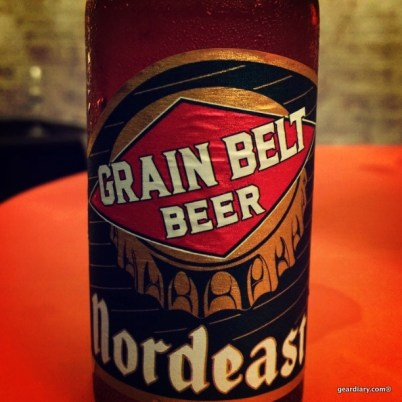 ... and then I actually saw my first bottle of Grain Belt Beer
