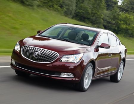 2014 Buick LaCrosse/Images courtesy Buick