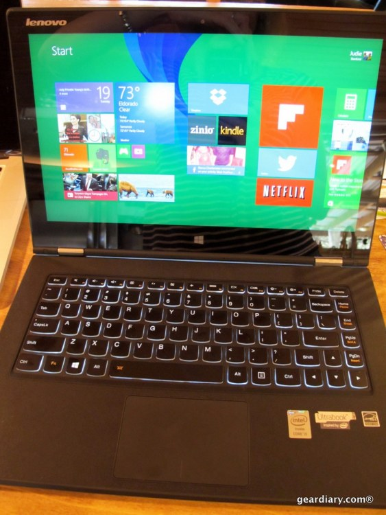 "Lenovo IdeaPad Yoga 2 Pro Ultrabook 13.3"" Touch-Screen Laptop - Transformative Power"