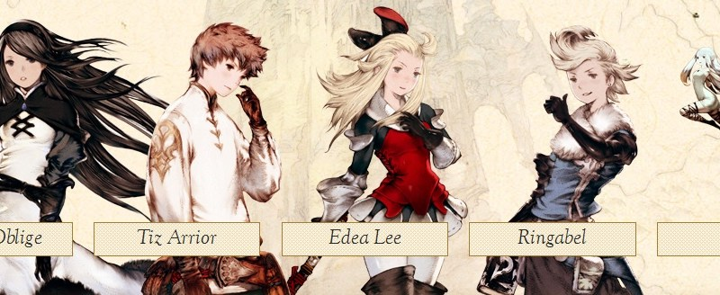 BravelyDefault-Characters