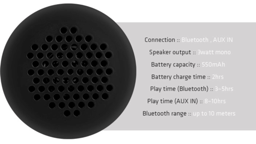 Earjax Echo Wireless Bluetooth Speaker | BodyGuardz