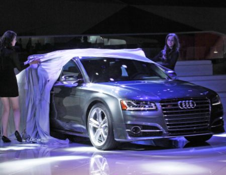Audi models unveil next S8