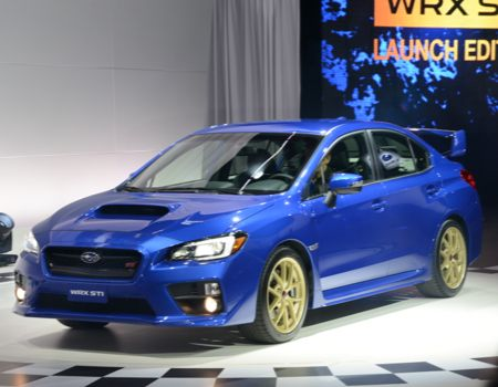 Subaru rolled out the next WRX STi in Launch Edition mode