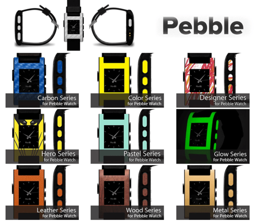 Pebble Watch Wraps Skins