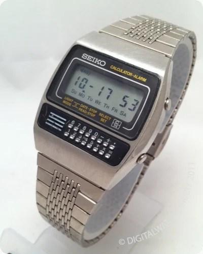 Seiko Calculator Watch