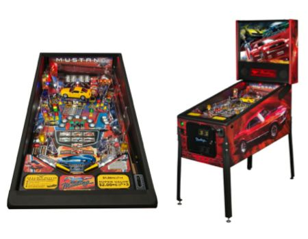 Stern Mustang Pinball/Images courtesy Stern Pinball