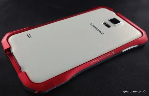 DRACOdesign SUPERNOVA Aluminum Bumper for Samsung Galaxy S5