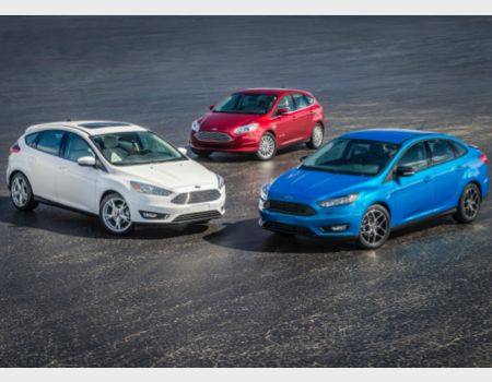 2015 Ford Focus Sedan and Hatchback/Images courtesy Ford