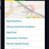 Scout for iPhone with OSM - report a map issue in the app