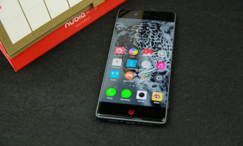 nubia Z9 Screen