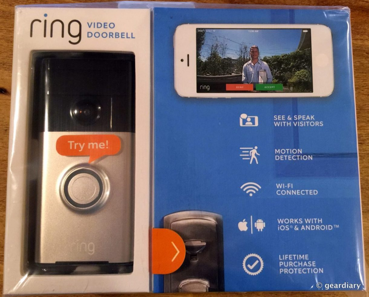 The Ring Video Doorbell Review: See Who's At Your Door