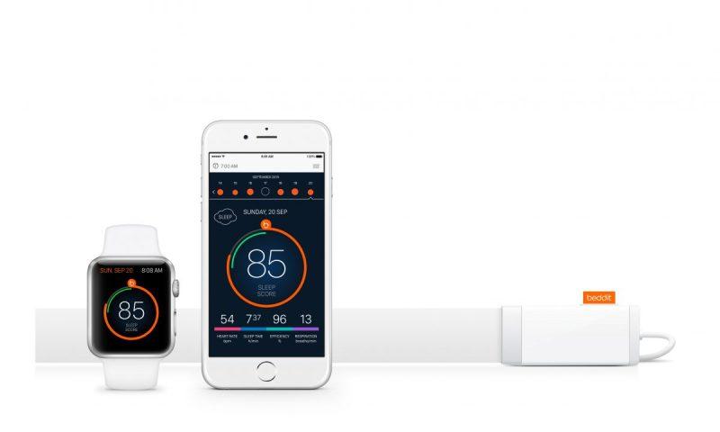 Beddit Watch, Phone & Sensor