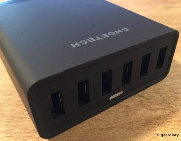 06-Choetech 50W 6-Port Desktop USB Charger-005