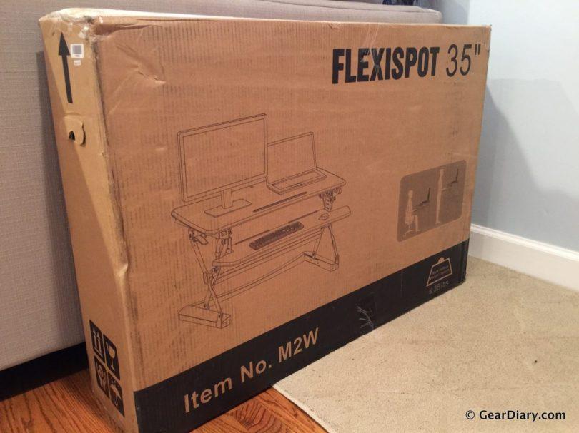 01-FlexiSpot M2W Gear Diary