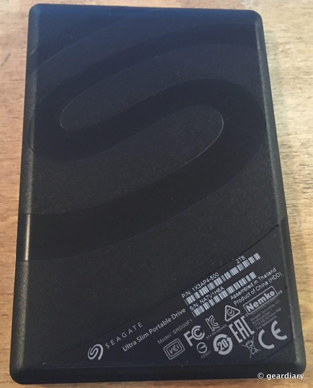 Seagate 2TB Backup Plus Ultra Slim: Pocketable Storage ...