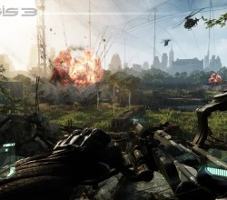 Crysis-3-Explosions-Beneath-the-Liberty-Dome