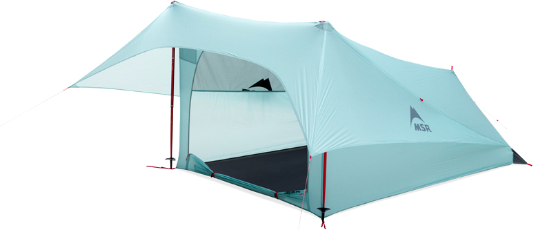 MSR Flylight 2-Person Trekking Pole Tent 1  sc 1 st  GEAROGRAPHER & 10 Ultra-Lite Tents to Take On Your Next Backpacking Trip ...
