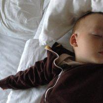Der Sohn schläft noch