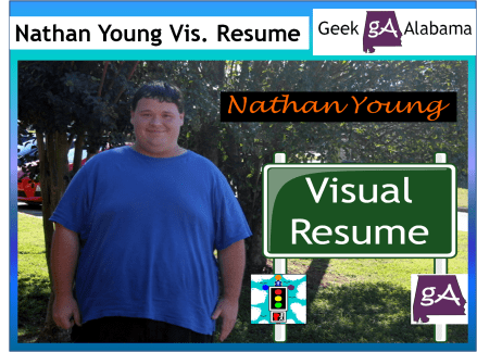 View The New Nathan Young Visual Resume Infographic