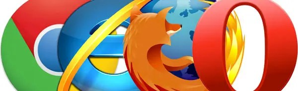 Chrome IE Firefox Opera