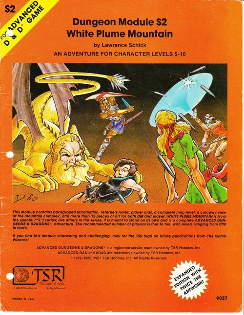 DMS2 White Plume Mountain