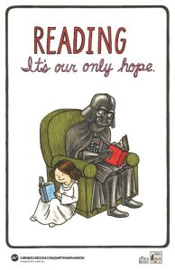Vader's Little Princess - reading