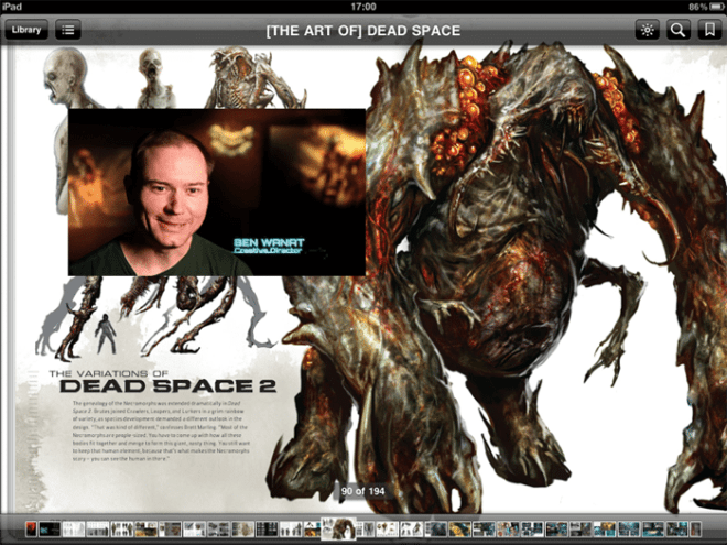 Dead Space spread