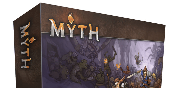 Myth Board Game Box