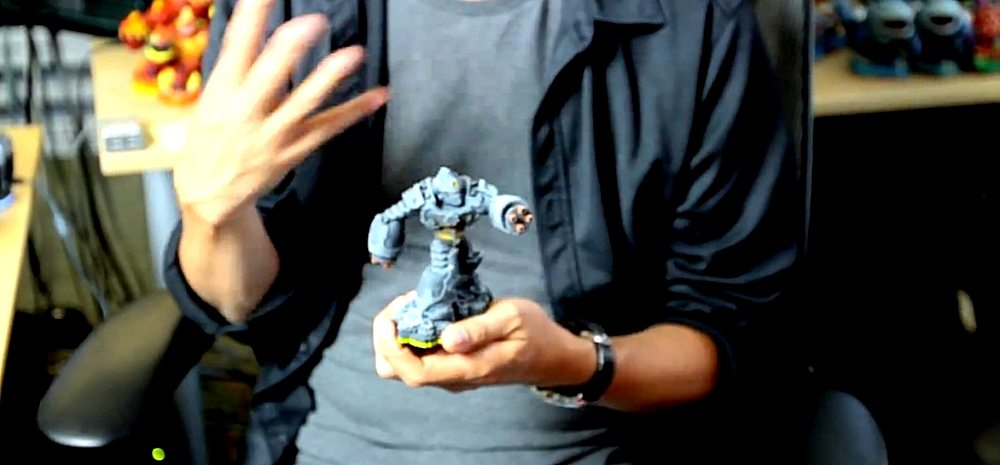 Wei Huang Shows Off a Tech Skylander Design