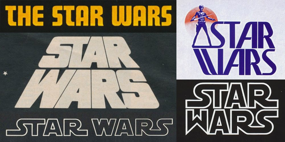 Various Star Wars Logos