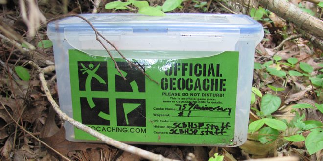 Geocache by vastateparksstaff via Flickr