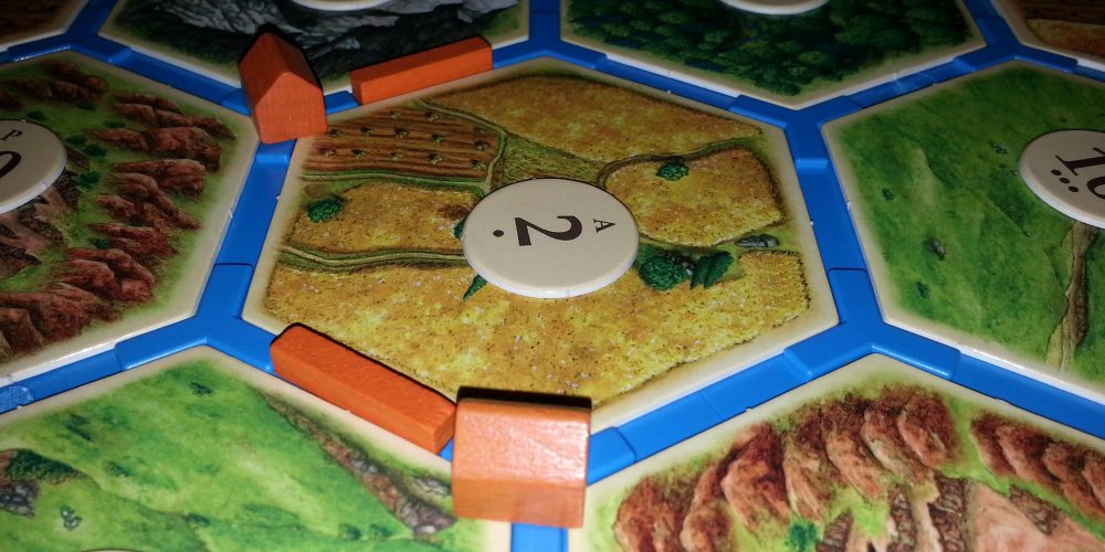 Catan Board Close-Up. Photo by: Anton Olsen