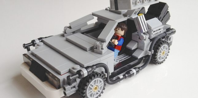 The Lego Cuusoo DeLorean