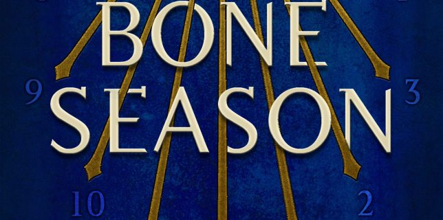 "27book""The Bone Season"" by Samantha Shannon."