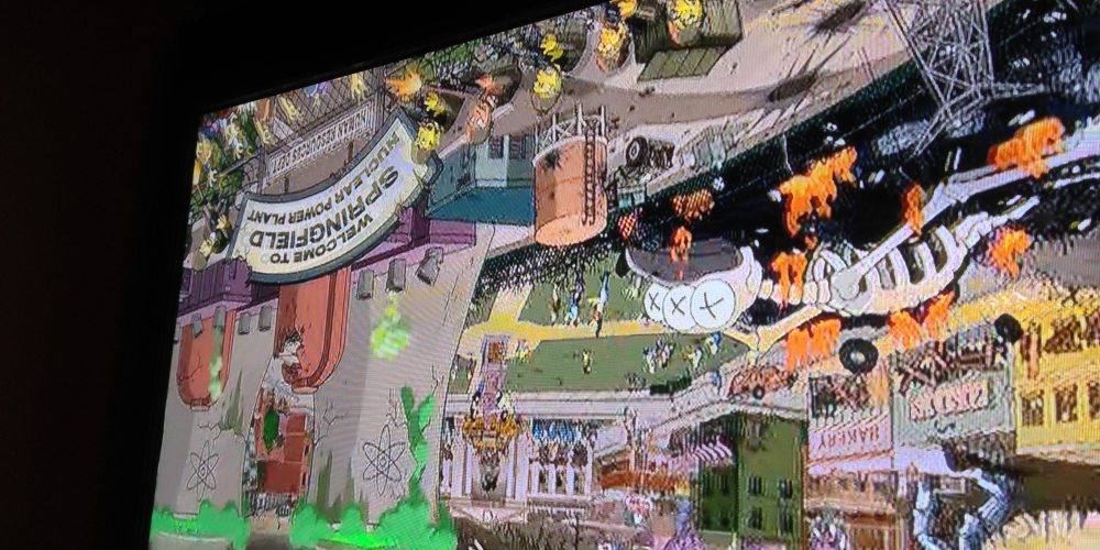 The Simpsons Treehouse of Horror XXIV: Don't blink or you'll miss something.