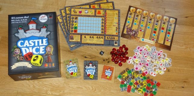 GeekDad Tabletop Review: <cite>Castle Dice</cite>