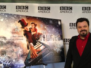 Me at the Doctor Who 2012 Christmas Special Screening