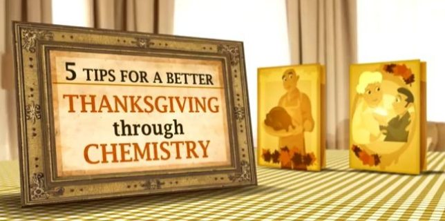 5 Tips for a Better Thanksgiving Through Chemistry